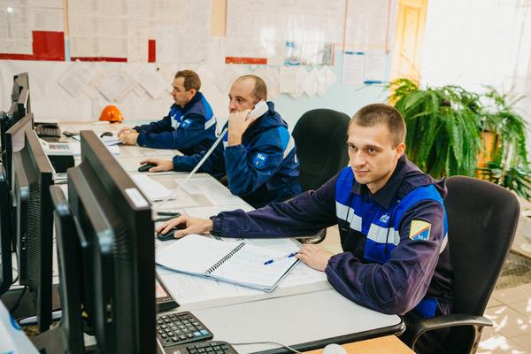 В операторной сырьевого парка ДК-4